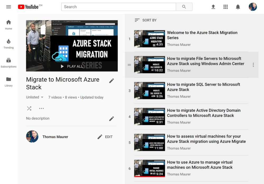 How to migrate to Azure Stack - Intro and File Server Migration