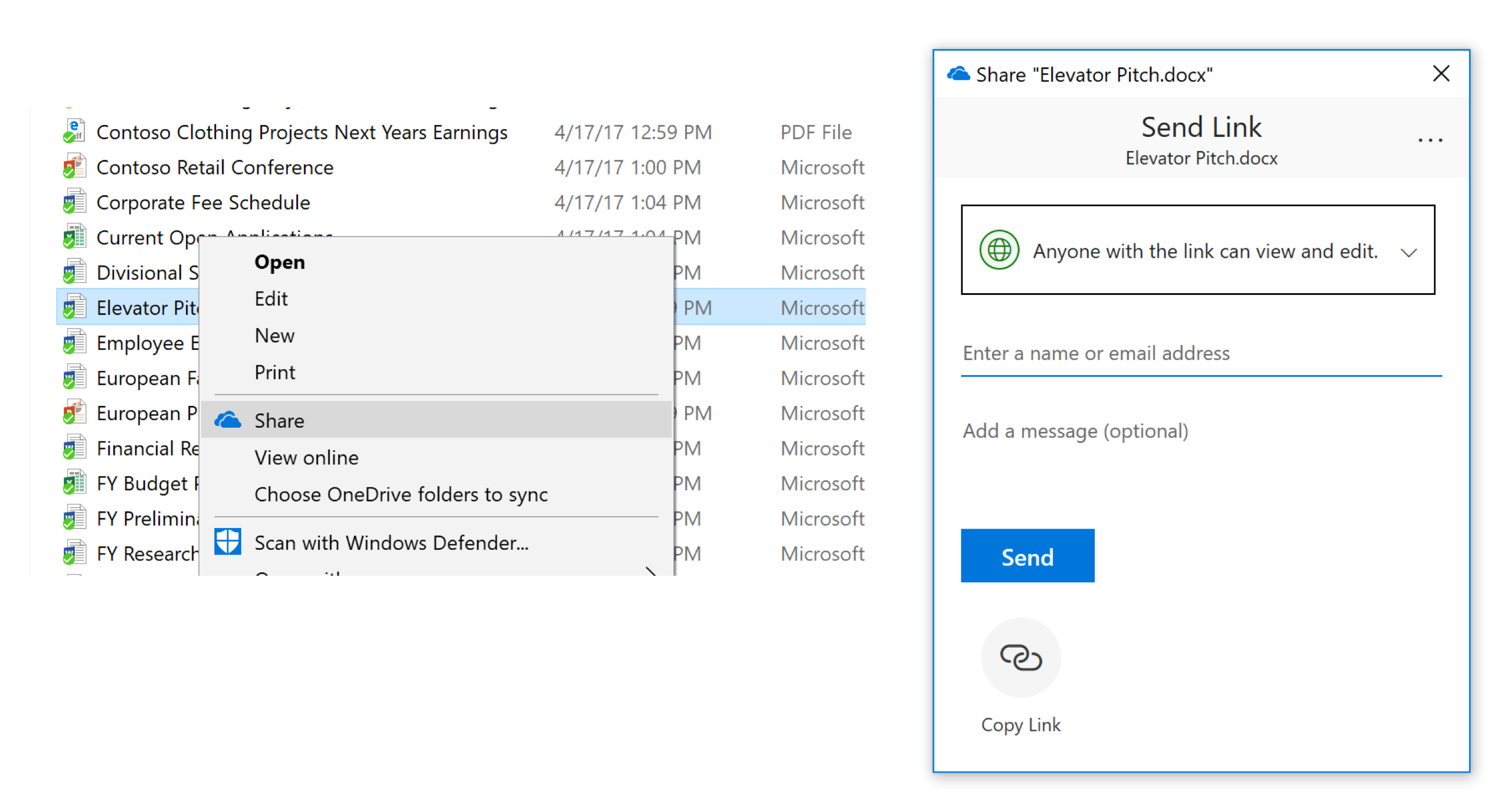 new sharing features for onedrive and sharepoint microsoft tech
