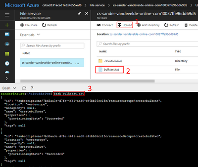 Azure portal on steroids or, Bash shell in your browser