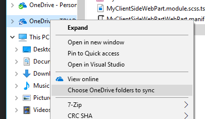 How to stop a Sharepoint library syncing down to PC via