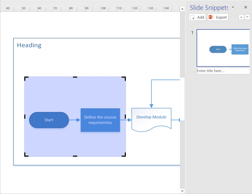 8 Visio Draw Snipping Pane over Flow Chart.png