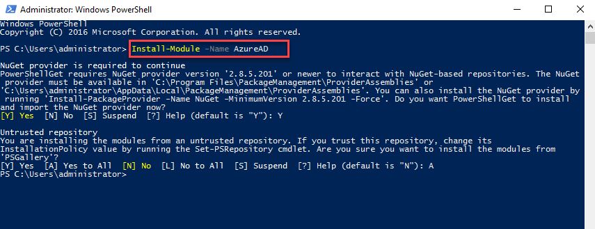 Step-by-Step: Managing Users via the Azure Active Directory PowerShell for Graph Module