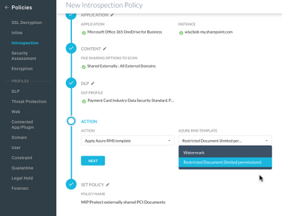 Netskope integration with MIP policy screenshot.png