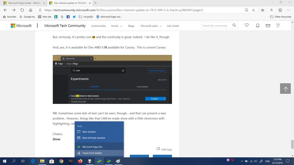 Dual icon on taskbar