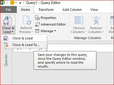 Daily changing web query and how to handle in power query