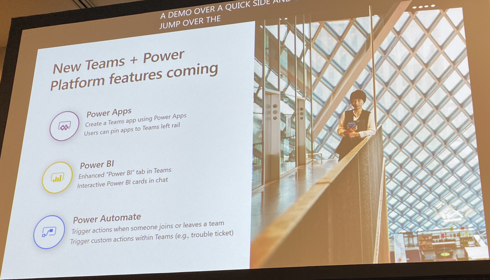 New Teams and Power Platform features coming