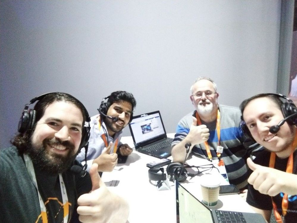 #WikiAzurePodcast at Microsoft Ignite 2019