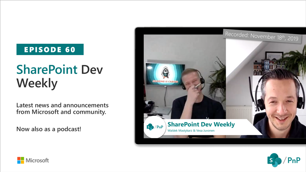 SharePoint Dev Weekly – Episode 60