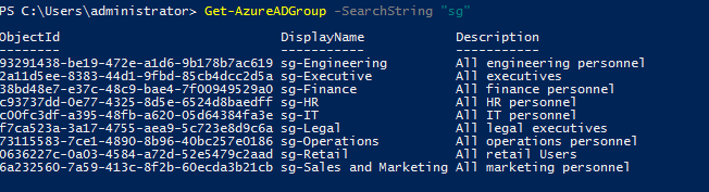 Step-by-Step: Managing Groups via Azure Active Directory PowerShell for Graph module