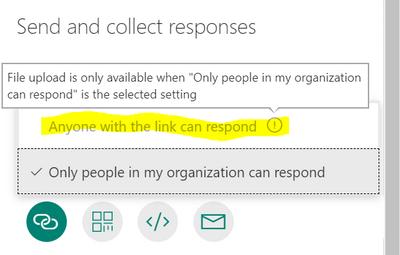 Microsoft Forms External Sharing Disabled Microsoft Tech