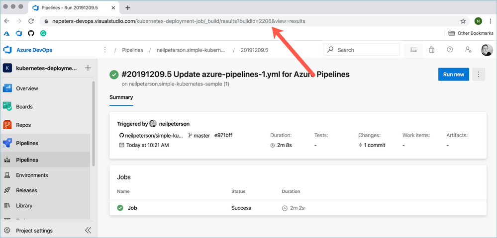 Environment Tracing and Build Annotations with Azure Pipelines