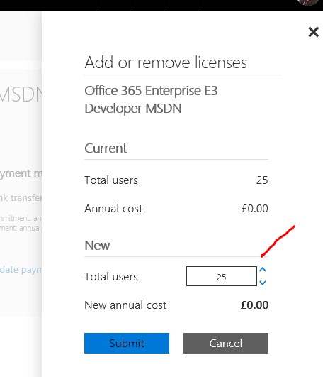 MSDN Dev subscriptions now give 25 O365 licenses - Microsoft Tech