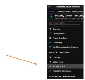 Enable Vulnerability Assessment Check in Azure Security Center (ASC)