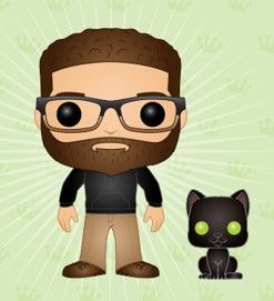 The Funko-Pop!'ped Mark Kashman and Echo Kitty