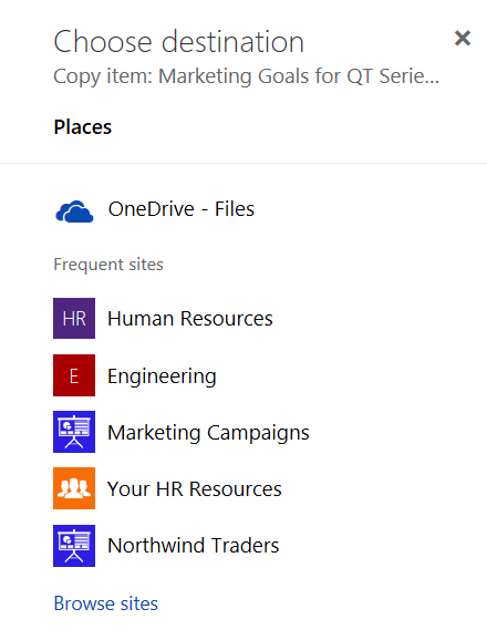 Announcing File Copy/Move for SharePoint Modern Document Libraries