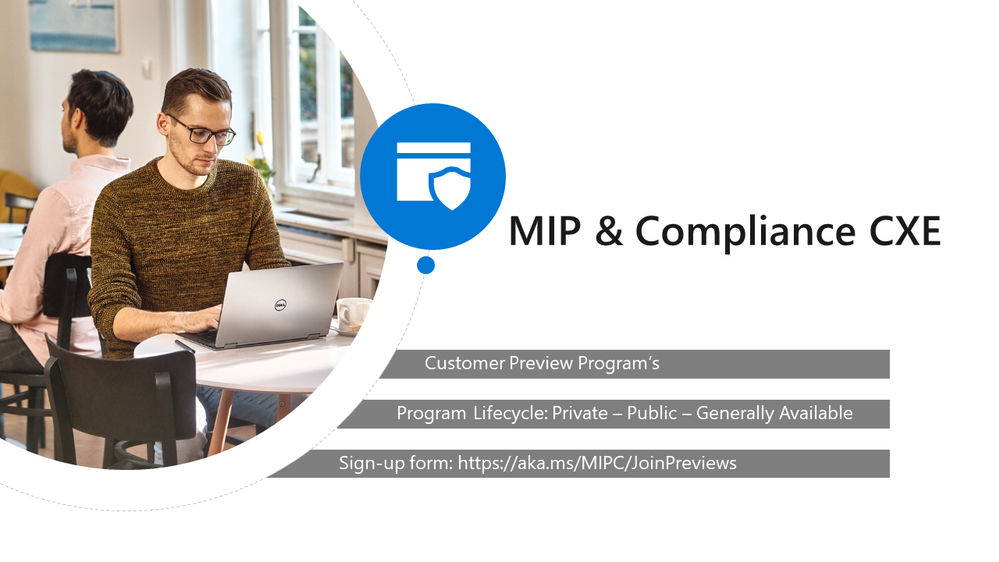 Microsoft Information Protection & Compliance Preview Programs