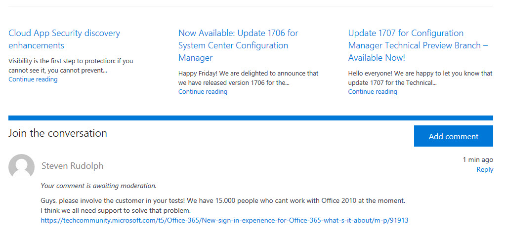 dd1d29b476d2 New sign-in experience for Office 365