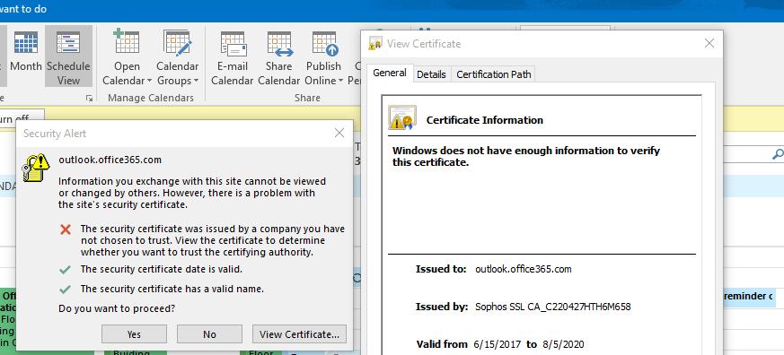 Certificate Error In Autodicover Microsoft Tech Community 95157