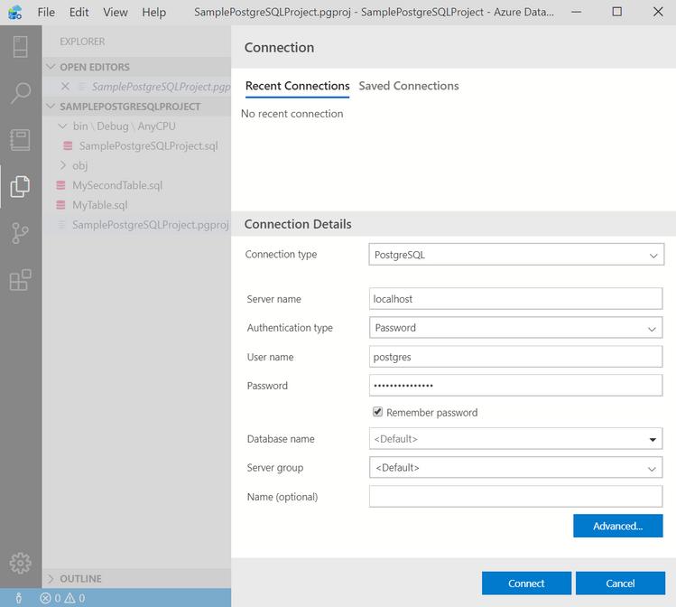 Connect to Postgres - in Azure Data Studio Postgres.png