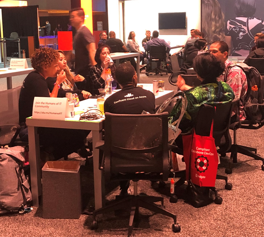 Enjoyed the Humans of IT Story Hours at Microsoft Ignite 2019? Be sure to join the Network Groups on our Community Mentors app to continue those great discussions online!