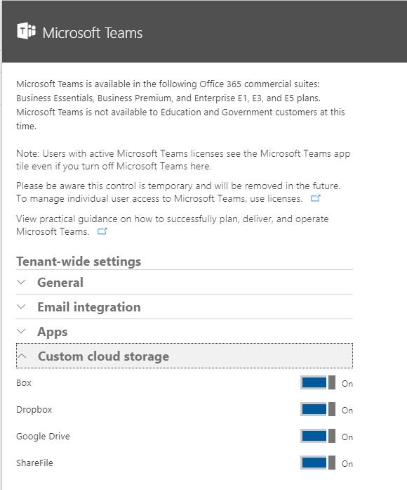 Disable Dropbox Integration Microsoft Tech Community 102207