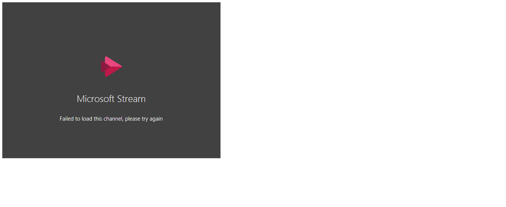 Channel is not appearing in SharePoint Online
