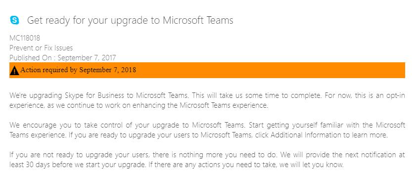 Using Teams to Replace Skype - Microsoft Tech Community - 53848