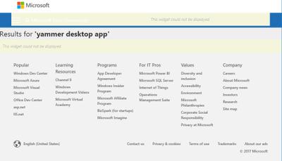 Microsoft Tech Community Logged out glitch.png