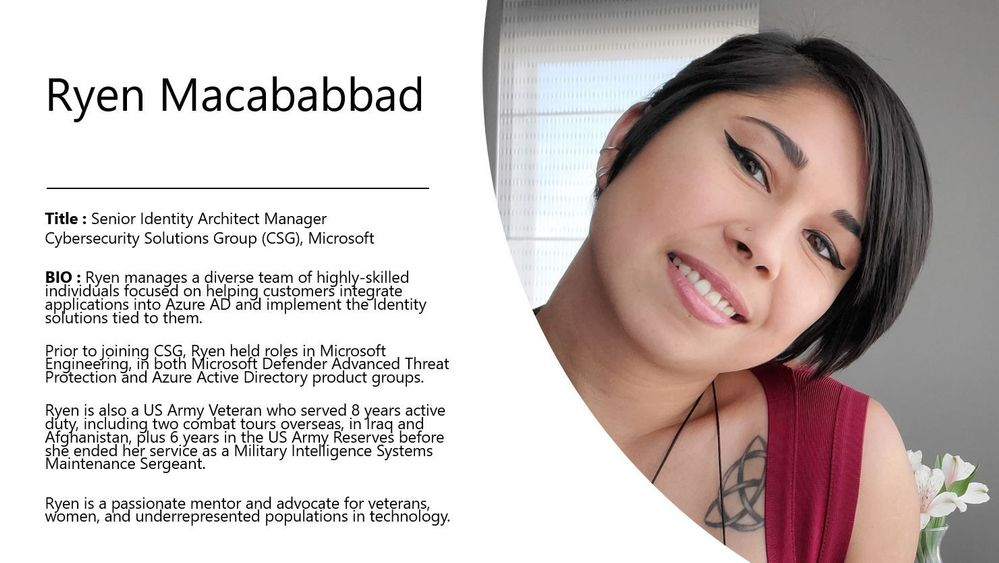 Meet Ryen Macababbad who leads the new Women in Cybersecurity network group!