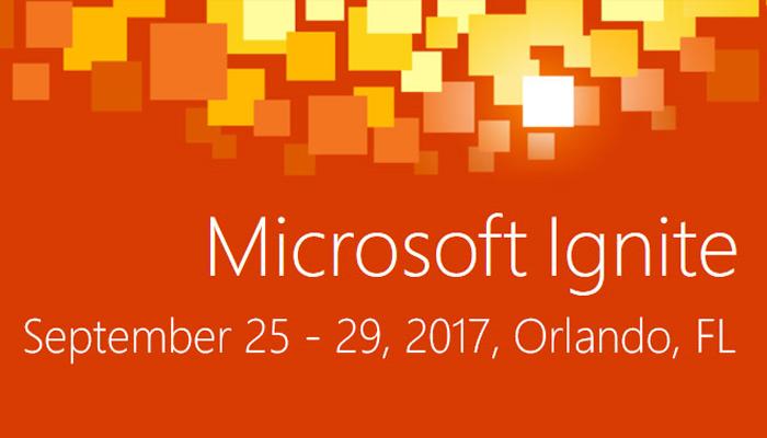 Microsoft Ignite Live stream