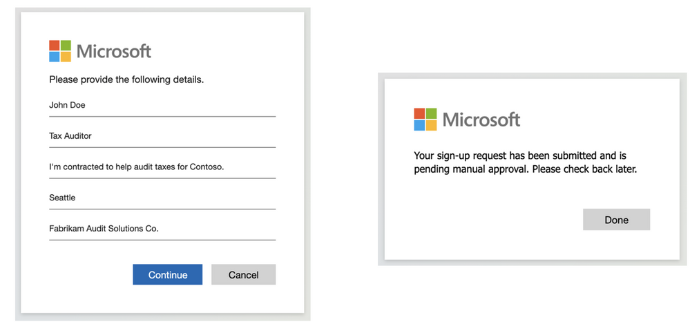 Customize External Identities self-service sign-up with web API integrations