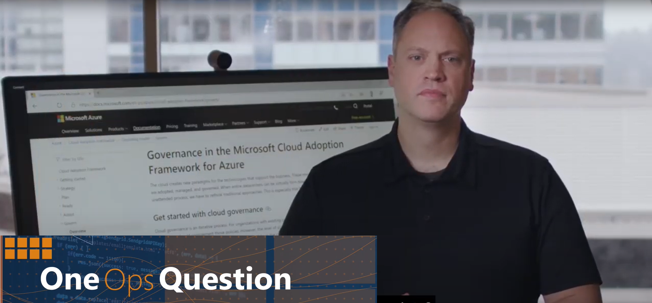 One Ops Question: What are Azure Blueprints?