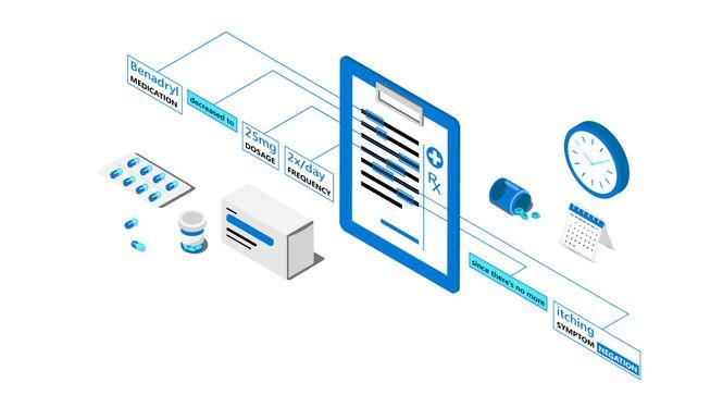 Text Analytics for Health 3D illustration_07062020.jpg