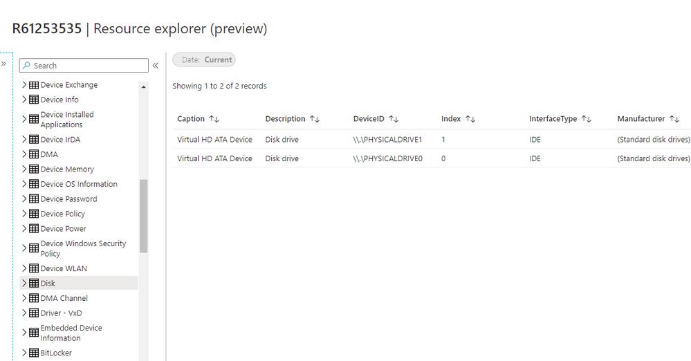 Resource Explorer preview