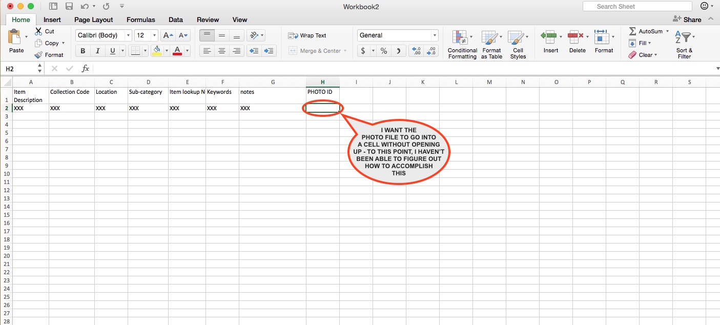 How to insert a .jpg file into an Excel Spreadsheet