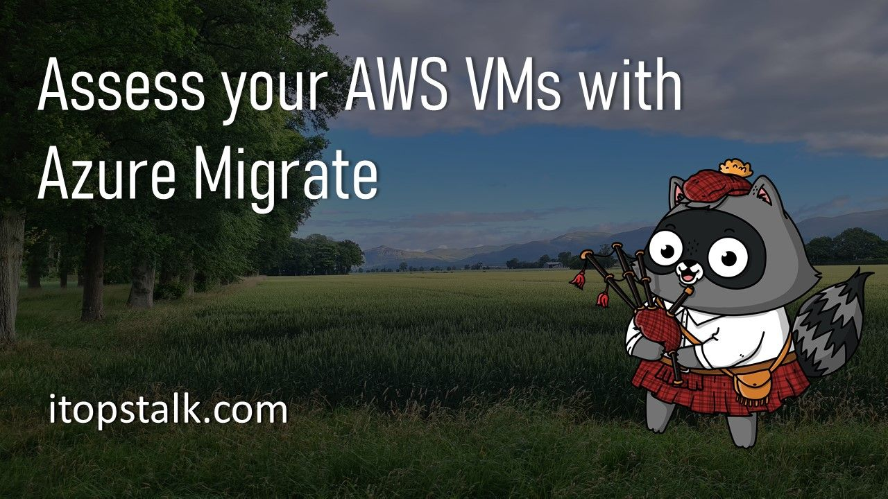 Assess your AWS virtual machines with Azure Migrate
