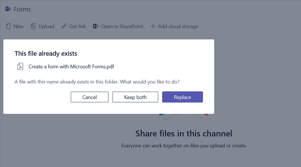 Unable to upload files in Teams Channel - Microsoft Tech