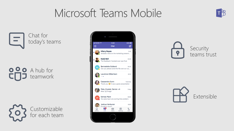 mvp live blog  collaborate on the go with microsoft teams