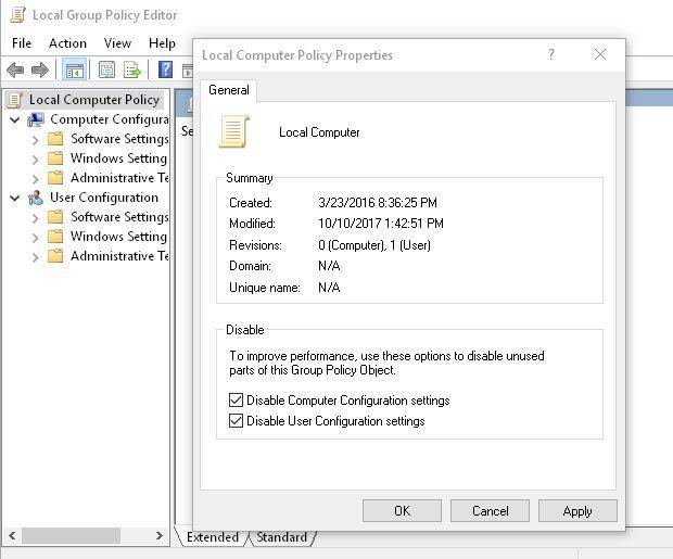 Enabledisable Group Policy Via Script Microsoft Tech Community