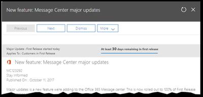 Message Center major updates details.png