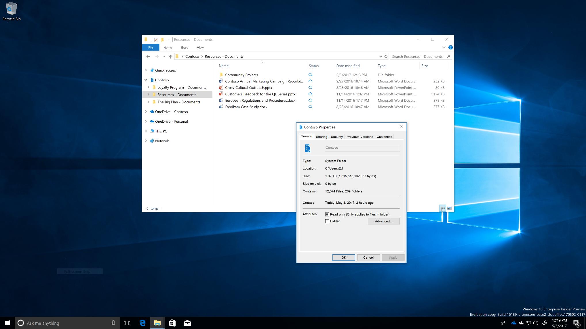 OneDrive Files On-Demand For The Enterprise - Microsoft Tech