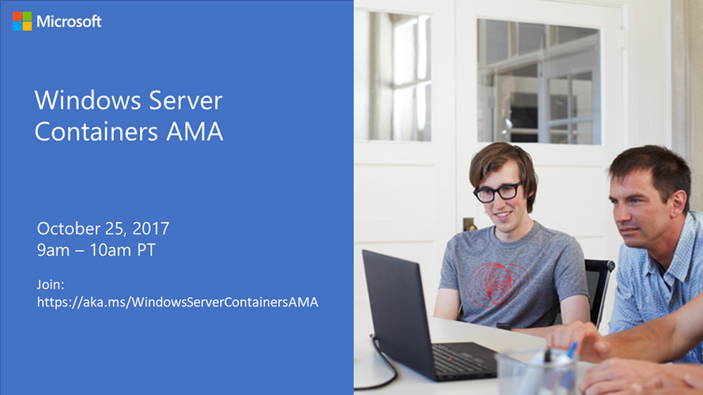 Windows Server Containers AMA.PNG