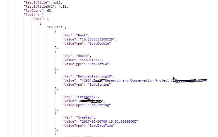 spfx React > REST API > Map search results - Microsoft Tech