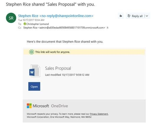 how to change onedrive email