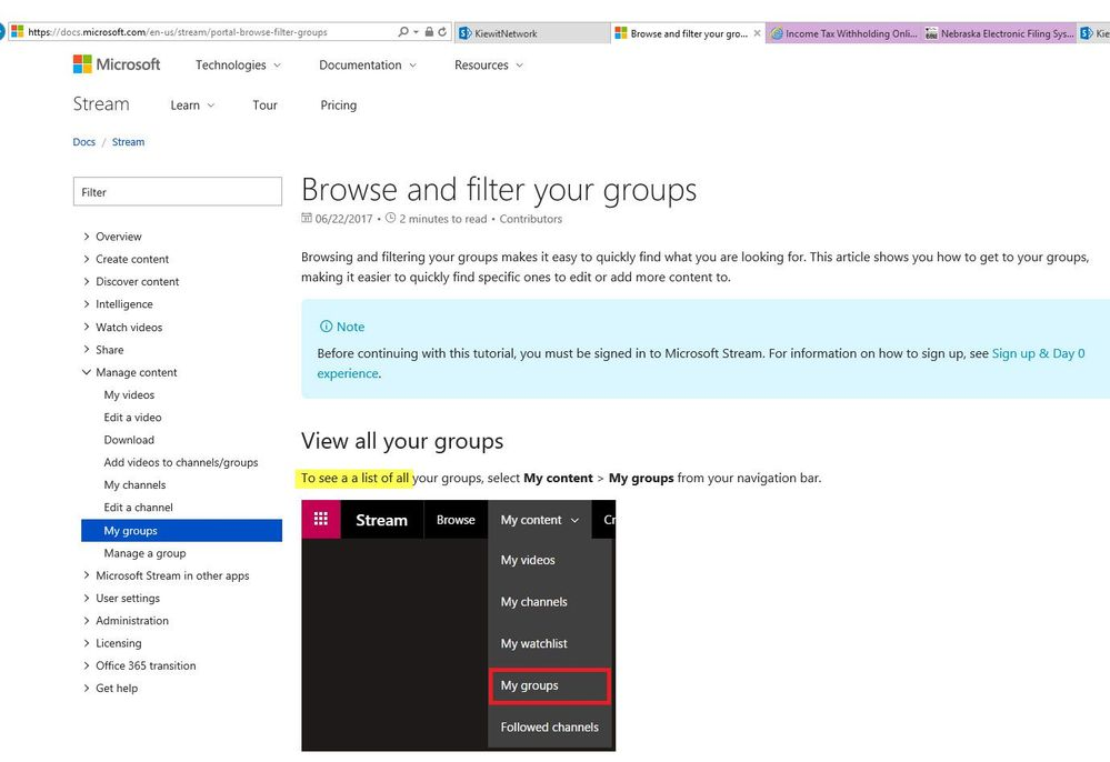 Typo on Browse and Filter Groups page.jpg