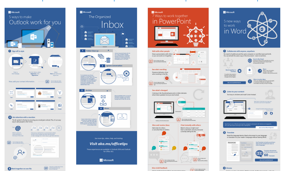 New Infographic Templates For Word Outlook And Powerpoint