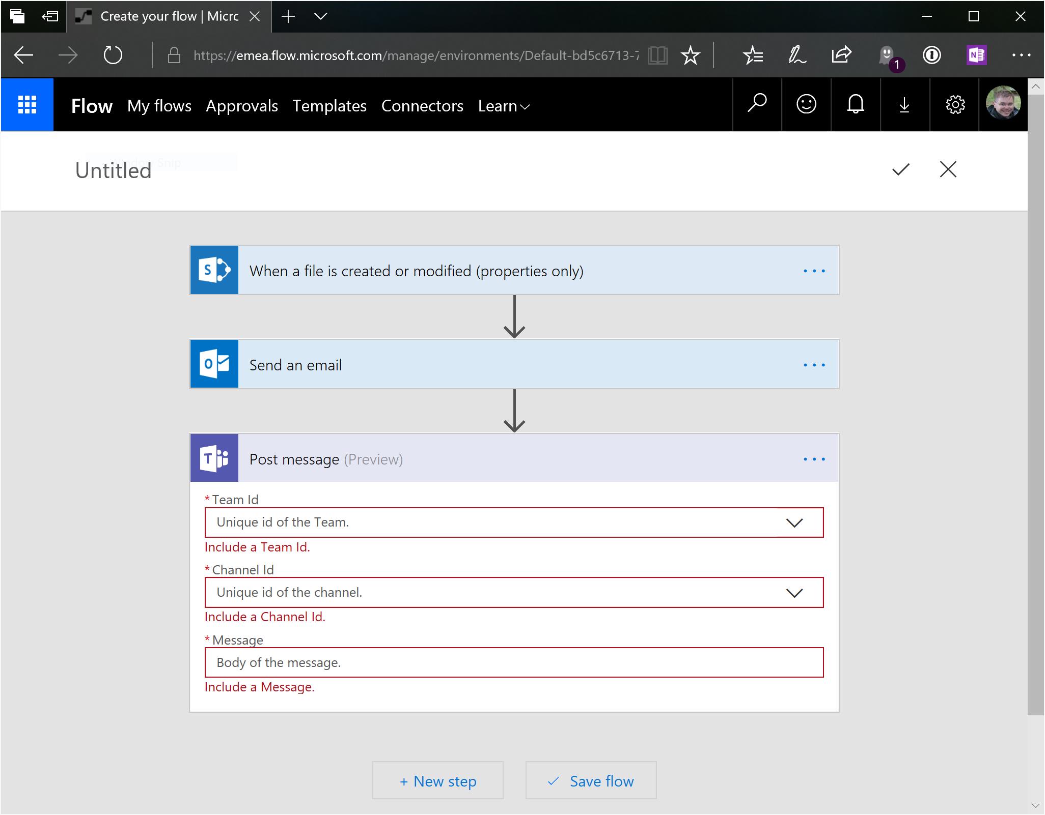 Notification of file upload in channel - Microsoft Tech Community