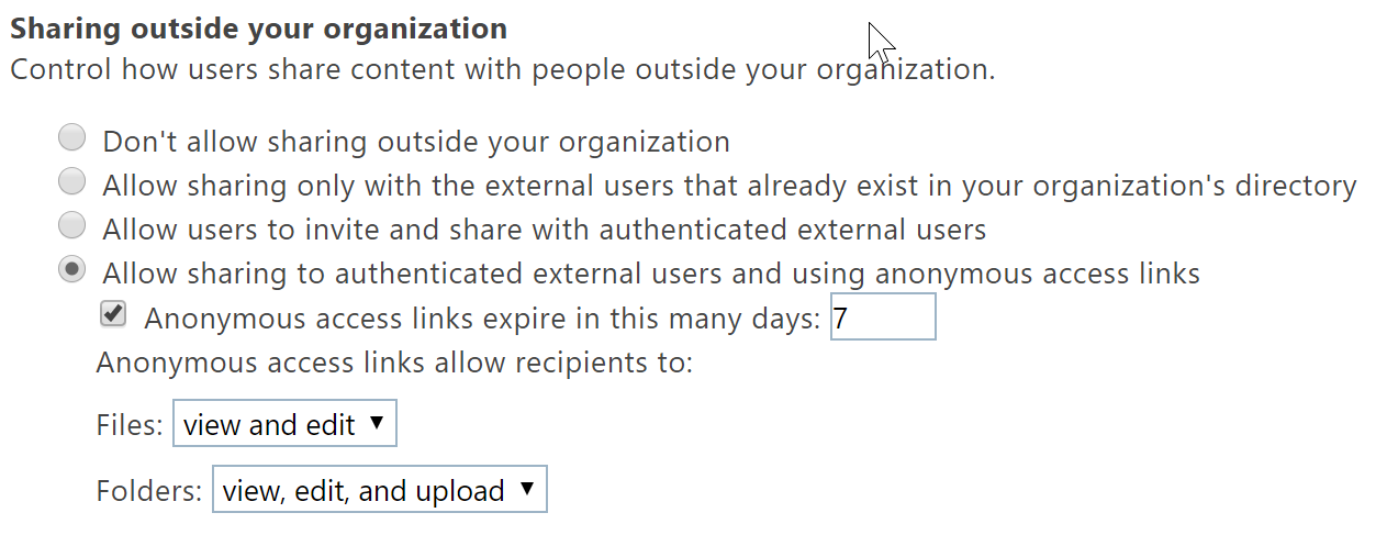 Introducing a new secure external sharing experience - Microsoft