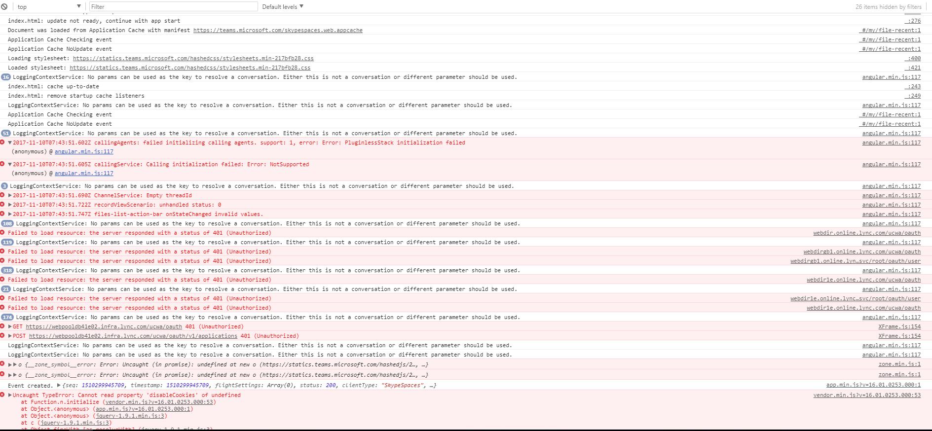 Incoming Webhook - MS Teams returned HTTP error 403