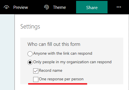 Forms for Excel, new experience for Excel survey in Office